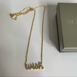 Ariella Messages Wish Necklace - New